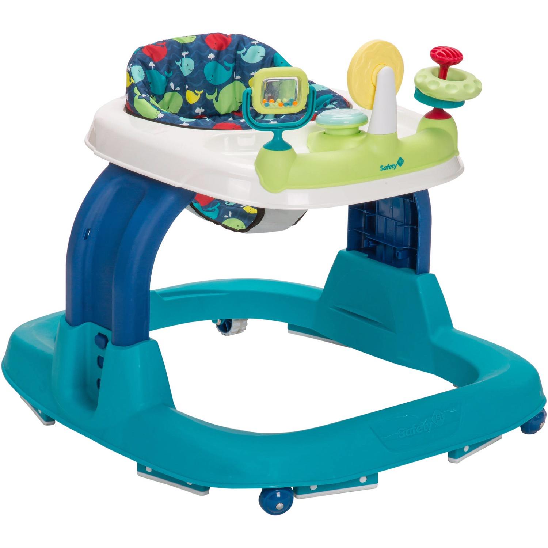 N 2.0 Developmental Baby Walker with Activity Tray Set Safety 1st Ready Walk